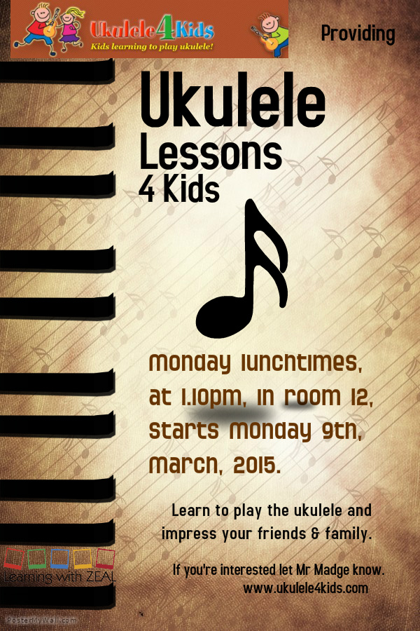 Ukulele 4 Kids | Kids learning to play ukulele